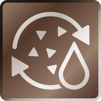 Rozkoszuj się wyborną kawą dzięki funkcji automatycznego płukania i podpowiedzi dot. odkamieniania