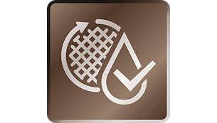Optimal sauberes, klares Wasser dank patentierter Wasserleitung