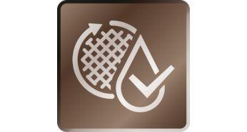 Eau claire et purifiée de façon optimale par débit d'écoulement breveté