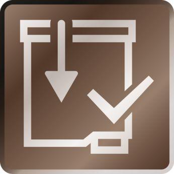 Activez le filtre sans effort, grâce au système Click&Go