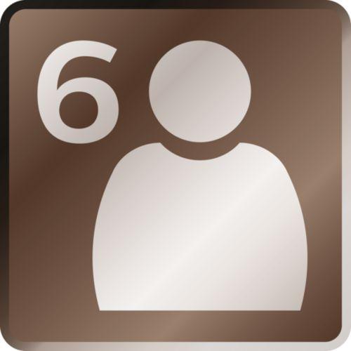 Crea e memorizza fino a 6 profili utente