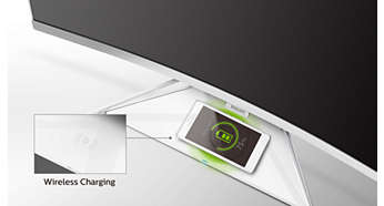 Built-in wireless charging for mobile devices