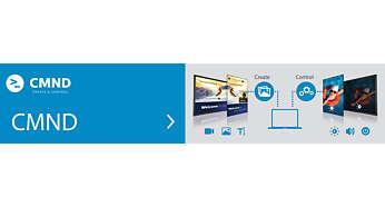 CMND: przejmij kontrolę nad swoimi monitorami