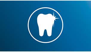 深入去除牙菌膜,還原潔白牙齒