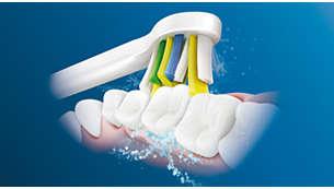 Výjimečné čištění mezi zuby asrovnátky