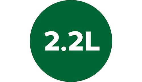 Kan van 2,2 liter voor dagelijkse inname van voedingsstoffen