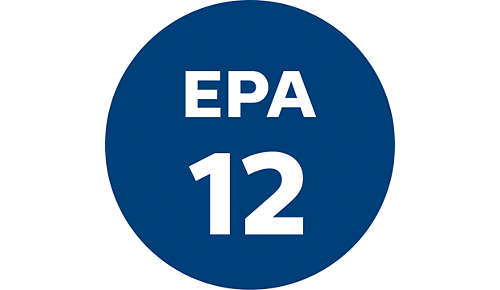 Ultra Hygiene EPA12 filter