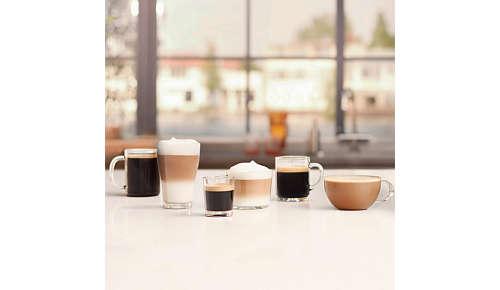 Kuusi helposti valittavaa juomavaihtoehtoa