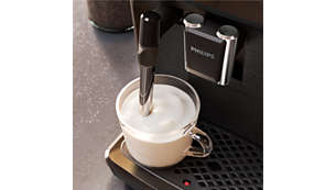 Delicious milk froth thanks to the classic milk frother