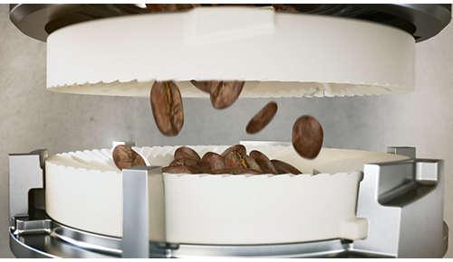 20.000 koppen van de beste koffie met duurzame keramische molens