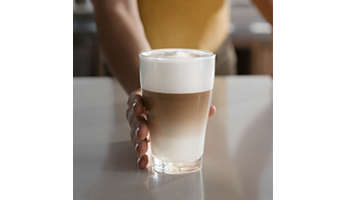 Perfect melkschuim dankzij de Latte Perfetto-technologie