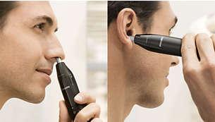 Trim nose & ear hair