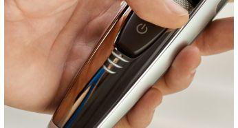 Быстрый просмотр состояния заряда аккумулятора триммера