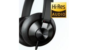 Yüksek Çözünürlüklü ses kalitesi, müziği en saf halinde üretir