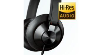 Redarea audio de înaltă rezoluţie reproduce muzica în cea mai pură formă