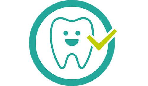 Zdravý vývin zubů adásní