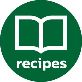 Здравословно приложение за вдъхновяващи вкусни рецепти за сок