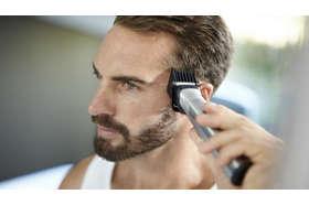 Široký strihač vlasov rýchlo zastrihne aj tie najhrubšie vlasy