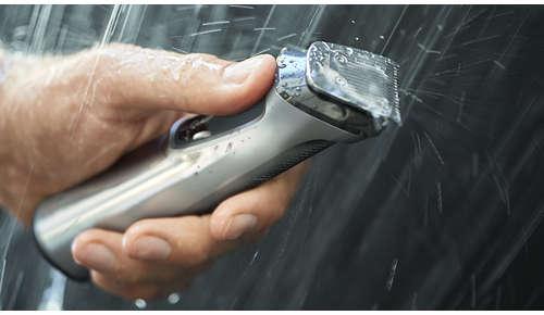 Rezistent la utilizare sub duş pentru utilizare şi curăţare comode