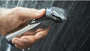 يمكن استخدامها أثناء الاستحمام وتنظيفها بشكل مناسب