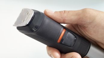 No-slip rubber grip for improved comfort and control