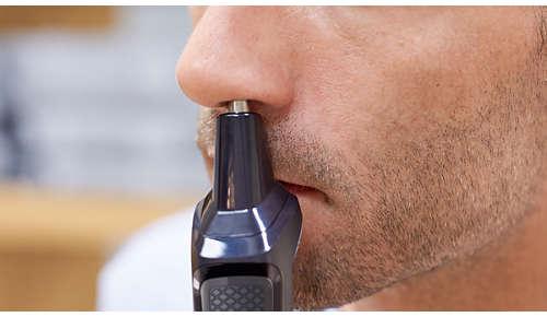 Nese- og ørehårstrimmer – fjern uønskede hår smertefritt
