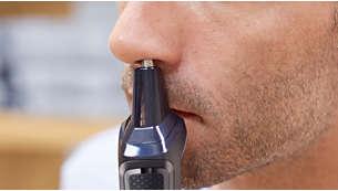 Tondeuse nez-oreilles éliminant les poils du nez et des oreilles