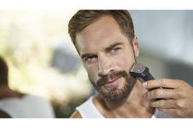 <h3>Kovový zastrihávač precízne zastriháva bradu, telo aj vlasy</h3>