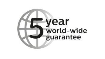 5-летняя гарантия и всемирное напряжение