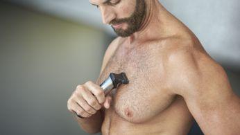 Bodyshaver удобно бреет волосы на теле
