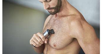 Golarka do ciała umożliwia wygodne golenie włosów na ciele