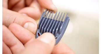 5 ohjauskampaa parran ja hiusten trimmaukseen