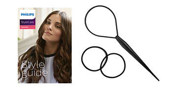 Style guide and 3 useful hair accessories for 10+ styles