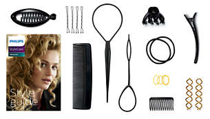 Style guide and 11 useful hair accessories for 15+ styles