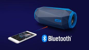 Безжично поточно предаване на музика чрез Bluetooth