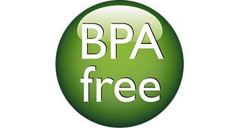 Los biberones son libres de BPA*