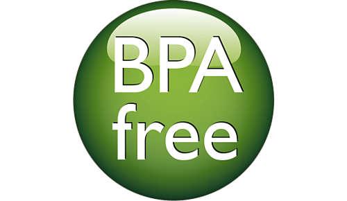 De flessen zijn BPA-vrij*