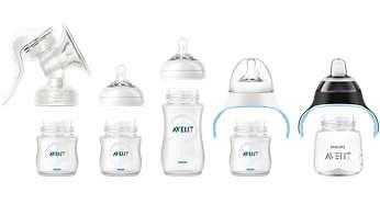 Compatible con la línea de productos Philips Avent
