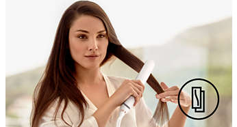 Hitzeschutz für kräftiges Haar