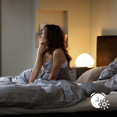 Ve a dormir y despiértate con la luz adecuada