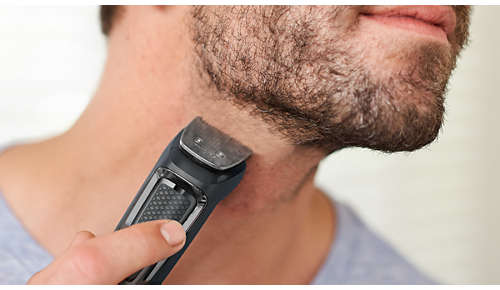 Tondeuse en métal pour la barbe et les cheveux