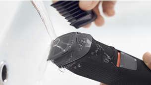 Vedenpitävä laite on helppo puhdistaa juoksevalla vedellä