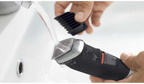 Voděodolný pro snadné čištění pod tekoucí vodou