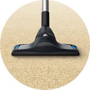 Halıları derinlemesine temizlemek için tasarlanmıştır