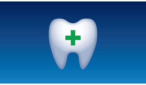 Hilft dabei, Karies zwischen den Zähnen zu vermeiden