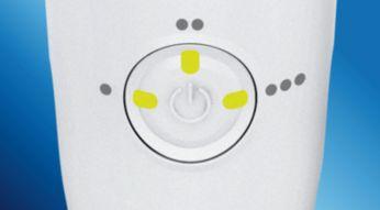 Ajuste personalizable de triple chorro