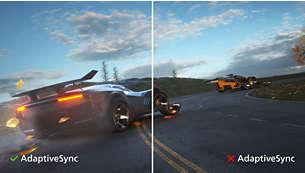 Tehnologija Adaptive-Sync omogućuje uglađen prikaz akcije