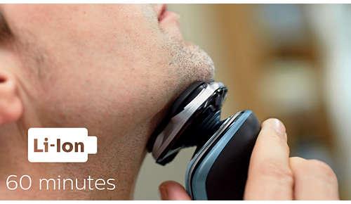 60 minuten draadloos scheren