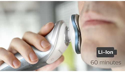 60minutos de afeitado sin cable