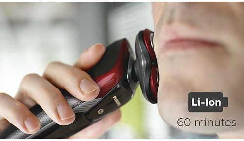 60minut bezprzewodowego golenia